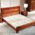 万家达克の木ベトド纯木ダンベル寝室モダン新中国式家具1.8メートル1.5 m纯木ベド寝室ダンベル9025クミの木纯木单ベド1200 mm*2000 mm
