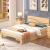 美室イタリア純木ベケット1.2 m 1.5 m 1.8 m松木家具30 cm高引出しなし1000*1900