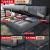 大众晟ドダンベル纯木ベトリングファブリック外し北欧风1.8メートル小戸型した布ベトド家具セット標準シングルジッド(備考色)1800*2000
