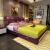 【現物】布卡仕革製ベッド1.5 m 1.8 m寝室家具簡易ベッド1800*2000【三引出金】
