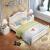 精冠純木ベトド北欧風洋風ダブイル日本人大人ベド寝室家具アメカリンベトジット左寝室家具5 cmココナッツブラウン+1200 mmダブル引き出し