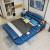 Motianベト本革ベッド1.8 mダンブシンプ畳制ベド寝室家具革制ベド普通版