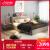 作曲家のベッド北欧風シンプルダー寝室1.5メートル1.8メートルダンベル式収纳ベド引出し畳収納納ベド+ラテックスパッド+ベトパッド+ベド头箱+1800*2000