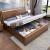 百万凡纯木ベクターの木ベド寝室1.8メートル1.5 mの新中国式2人シングルベルの木ベドの木ベド1800*2000 mmフレームベド