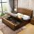 李府家縁純木ベベル1.5 m 1.8 mの新中国式家具気圧収納引き出し機能ベトド老人子供ベド健康ベド健康ベトパッドまたは環境保護パッド
