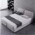 有品公館ベッド北欧風プロピチの沢取り外、ファブリックックの小さな家型モダンシリーパッド1800メートルベッドルームのベクレットパッド2000