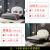 【1件7割引】詩帝軒純木ベト本革ベドペアアメリカーンクラシック家具モダンダンプ寝室家具1.8メートルベド高級家具アメリカーン純木ベド1500*2000