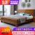 ロイヤルストーリー純木ベト1.8 m経済型中華風ダンベル1.5 mシンプロモーダー寝室気圧収納大引き出し収納室寝室家具シングルベド(色備考)【気圧款】1.5*2 m