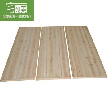 宅颐美纯木杉木硬ベケットダブル1.5 m 1.8 mベケットサイズは、1.6 cmベドプレート(両面研磨)1500 mm*2000 mmまでカスタマイズできます。