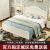 欧蓮娜ベド板式ダンベル韓式田園洋風プリンセスベド純木柱白寝室家具002フレームベド1200*2000列骨格