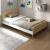 安贝格シンベド1.2 m 1.5 mの小型家庭用シンプロ経済収纳ベド北欧风格ストイベル构造