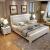 聚貝ベベド純木ベケット1.8 mダンベル1.5 m白色ベドダム寝室ダンベル純木大ベトド純木大ベド収納納納納納品標準シングルベド1500*2000フレーム構造